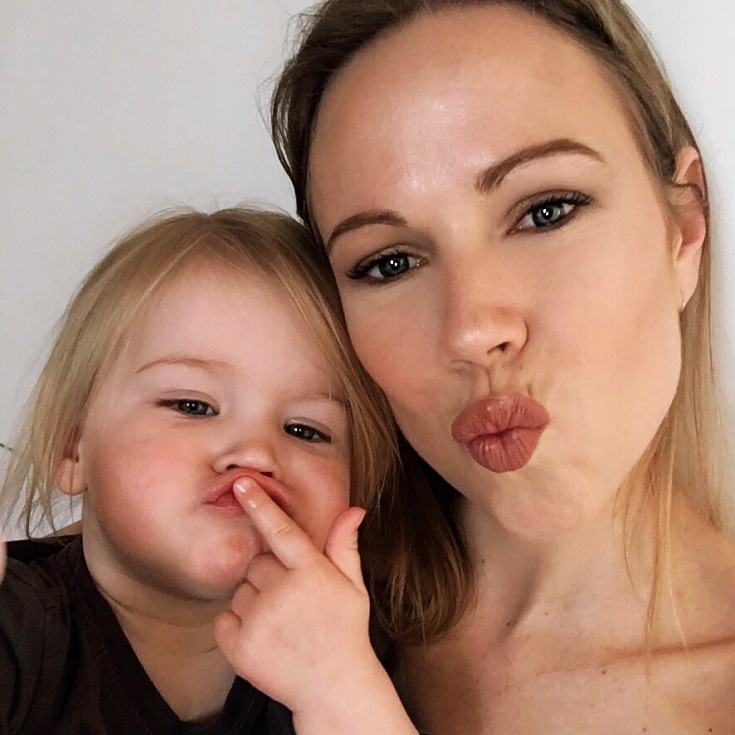 Kari and her daughter