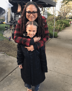 Lyric Wilson with director Ava DuVernay