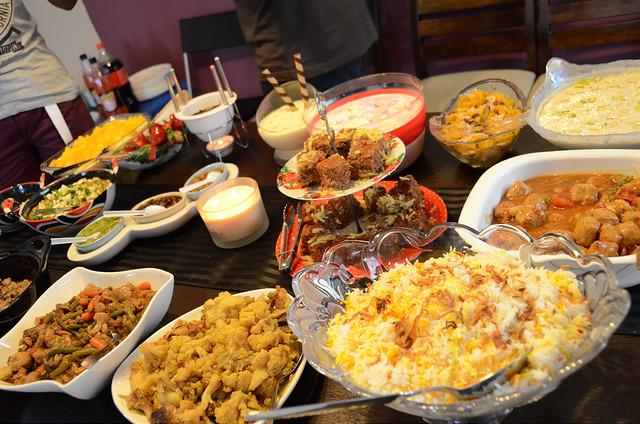Eid Iftar food